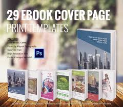 ebook cover designs premium templates 21 ebook cover page templates for 29