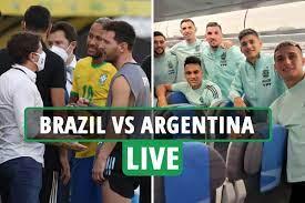 Brazil vs Argentina LIVE: Latest ...