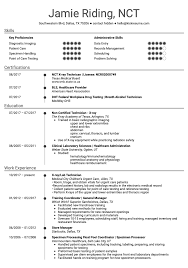 First Resume Sample 10 Great Healthcare Resume Samples Get A Job That Robots