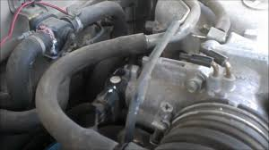 Throttle Position Sensor replacement in a Toyota Tacoma. TPS ...