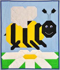 Bumble Bee Baby Quilt PATTERN &  Adamdwight.com