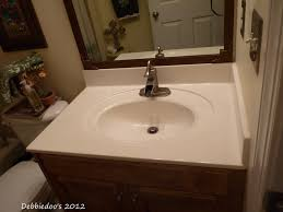 Painting Cultured Marble Sink Diy Painted Countertops Using Giani Granite Paint Kit