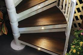 spiral staircase lighting. Trex Spiral Stairs Staircase Lighting U