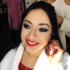 a glamorous indian wedding edmonton wedding makeup artist