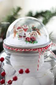 how to make a mason jar lid snow globe for using a clear plastic ornament