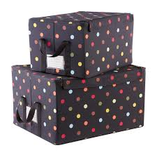 reisenthel Multi Dot Fabric Storage Boxes with Handles ...