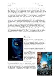 essay avatar movie essay avatar