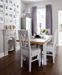Traditional-small-dining-room-with-lilac-accents
