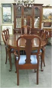 cherry wood dining room chairs latest pennsylvania house solid cherry admiral s queen anne style dining