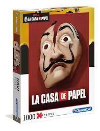 La Casa de Papel 2 - 1000 teile - La Casa De Papel - Clementoni