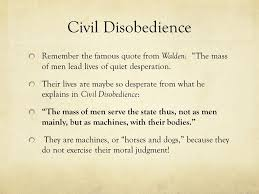 civil disobedience henry david thoreau civil disobedience as you  9 civil disobedience