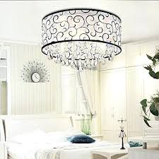 drum light chandelier 4 lights flush mounted modern drum ceiling light chandelier lamp rain 4 light