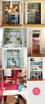 office closets. DIY Inspiration - Closets As Offices. Creative Ways To Convert A Closet Into Home Office I