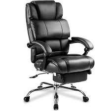 Office reclining chair Gravity Recliner Merax Ergonomic Leather Big Tall Office Chair With Footrest Black Walmartcom Pinterest Merax Ergonomic Leather Big Tall Office Chair With Footrest Black
