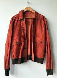 dunhill luxury uni reversible suede nappa leather jacket with contrast rib