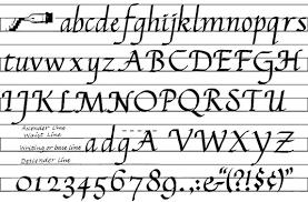 sample calligraphy styles dummies image0 jpg