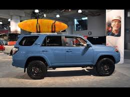 2018 toyota off road. delighful 2018 2018 toyota 4runner trd pro in cavalry blue  exterior shots in toyota off road