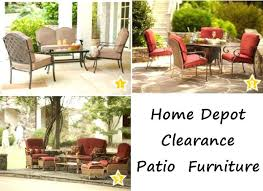 home depot patio furniture. Home Depot Outdoor Furniture Great Shop Clearance Patio Conversation Sets