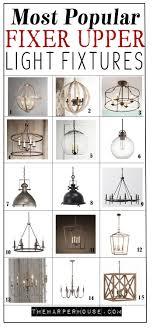 Joanna Gaines Light Fixtures Favorite Light Fixtures For Fixer Upper Style Modern