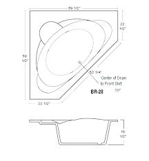 dimensions of a bathtub corner tub dimensions bathtubs idea awesome corner tub dimensions specs corner whirlpool