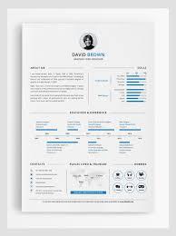 Adobe Illustrator Resume Template | Shatterlion.info