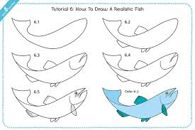 bass fish drawing step by step. Exellent Step How To Draw A Realistic Fish On Bass Drawing Step By
