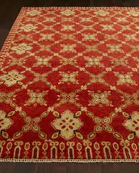 augustus hand knotted rug 6 x 9