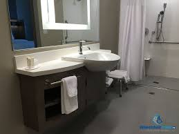 wheelchair accessible bathroom sinks. Wheelchair Accessible Bathroom Sinks Hotel Review: Springhill Suites Milwaukee Downtown A