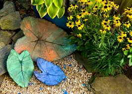cindy dyer photo of handmade leaves and flowers