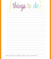 Blank To Do List Template And Heres A Vibrant Colorful Weekly To Do