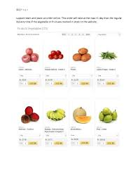 Fruit and vegetable retail business plan