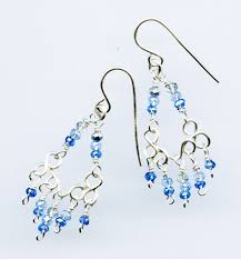 make your own basic customizable chandelier earring components and then dress them up with beads it s a great way to learn and practice basic