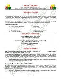 Sample Resume Of Teacher Applicant Marieclaireindia Com