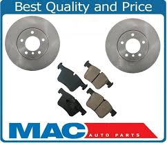 BMW 5 Series best brake pads for bmw : For 12-16 BMW 328I 312MM Front Brake Disc Rotors With Ceramic Disc ...