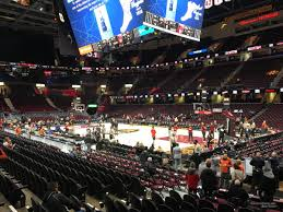 Rocket Mortgage Fieldhouse Section 105 Cleveland Cavaliers