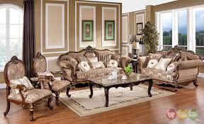 Victorian Style Living Room Sofa Sets, Furniture