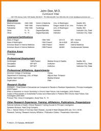 Physician Assistant Resume Templates Physician Resume Template Stibera Resumes 44