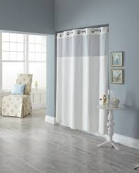 com hookless rbh82my418 fabric shower curtain with built in liner taupe diamond pique home kitchen
