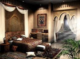 Indian inspired bedroom Decor