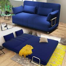 louis fashion modern large sized apartment folding sofa bed 1 5 meters 1 2 simple double fabric