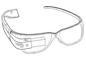 New Google Glass Design Google Patents Project Glass Ar Glasses Design The Verge