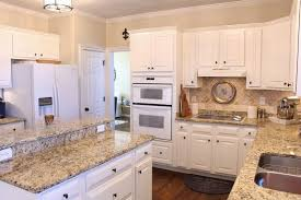 Granite Countertop Goes Up The Wall 2 Followed By Row Of Tiles