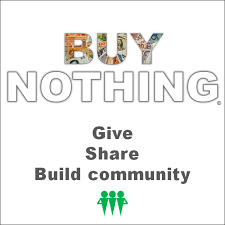 buy nothing project buy nothing give ly share creatively use this image to link back to us ""