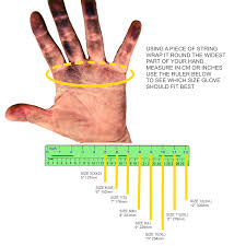 Hand Gloves Size Chart What Size Gloves Should I Buy