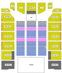 Event Center Arena Seating Chart Event Center Arena San