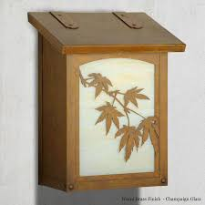 vertical wall mount mailbox. Japanese Maple Wall Mounted Mailbox - Vertical Advantage Mailboxes \u0026 More Vertical Wall Mount Mailbox