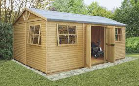 Small Picture wooden sheds garden sheds diy at bq blooma 7x3 apex roof timber