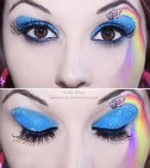 inspiration 12 amazing eye makeup looks nyan cat
