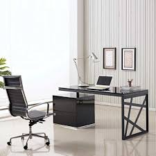 modern office table glass top. modern office desk designs interior wonderful design ideas for beautiful table glass top
