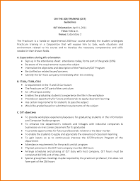 resume for ojt objectives resume sample resume for ojt objectives engineering resume objectives o resumebaking resume example of ojt resume career objective
